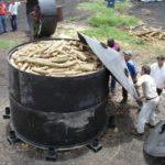 Horno metálico Carbón