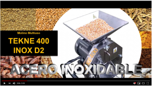 Tekne 400 INOX D2 en Youtube