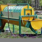 Lavadora Peladora de mandioca
